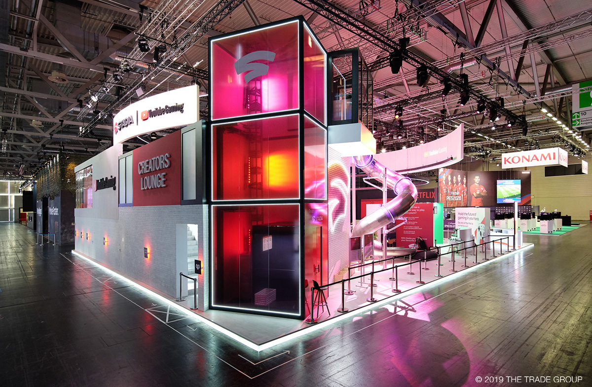 Google Stadia at gamescom 2019 - World Exhibition Stand Awards